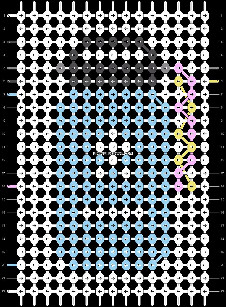 Alpha pattern #27224 pattern