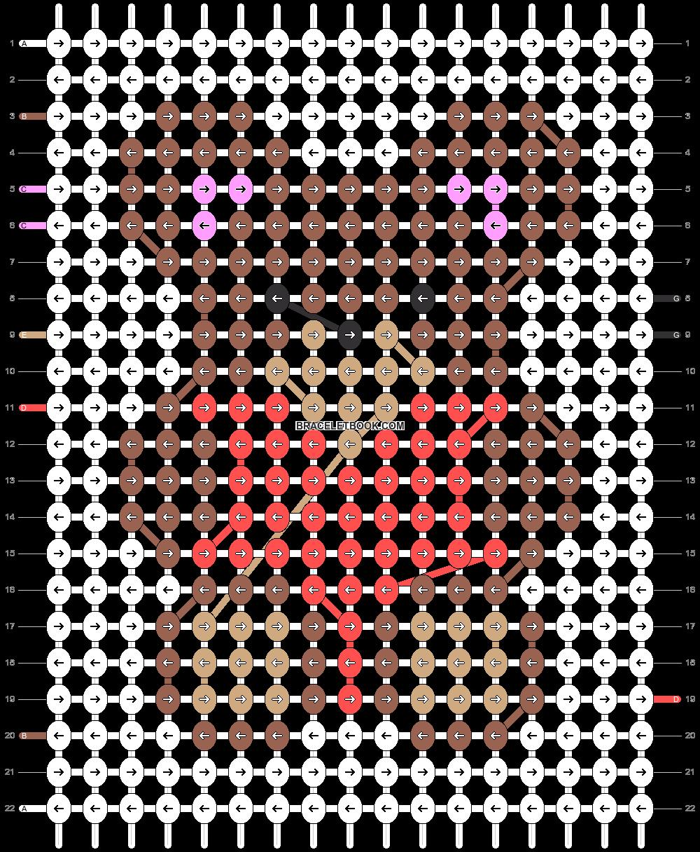Alpha pattern #27249 pattern