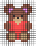 Alpha pattern #27249
