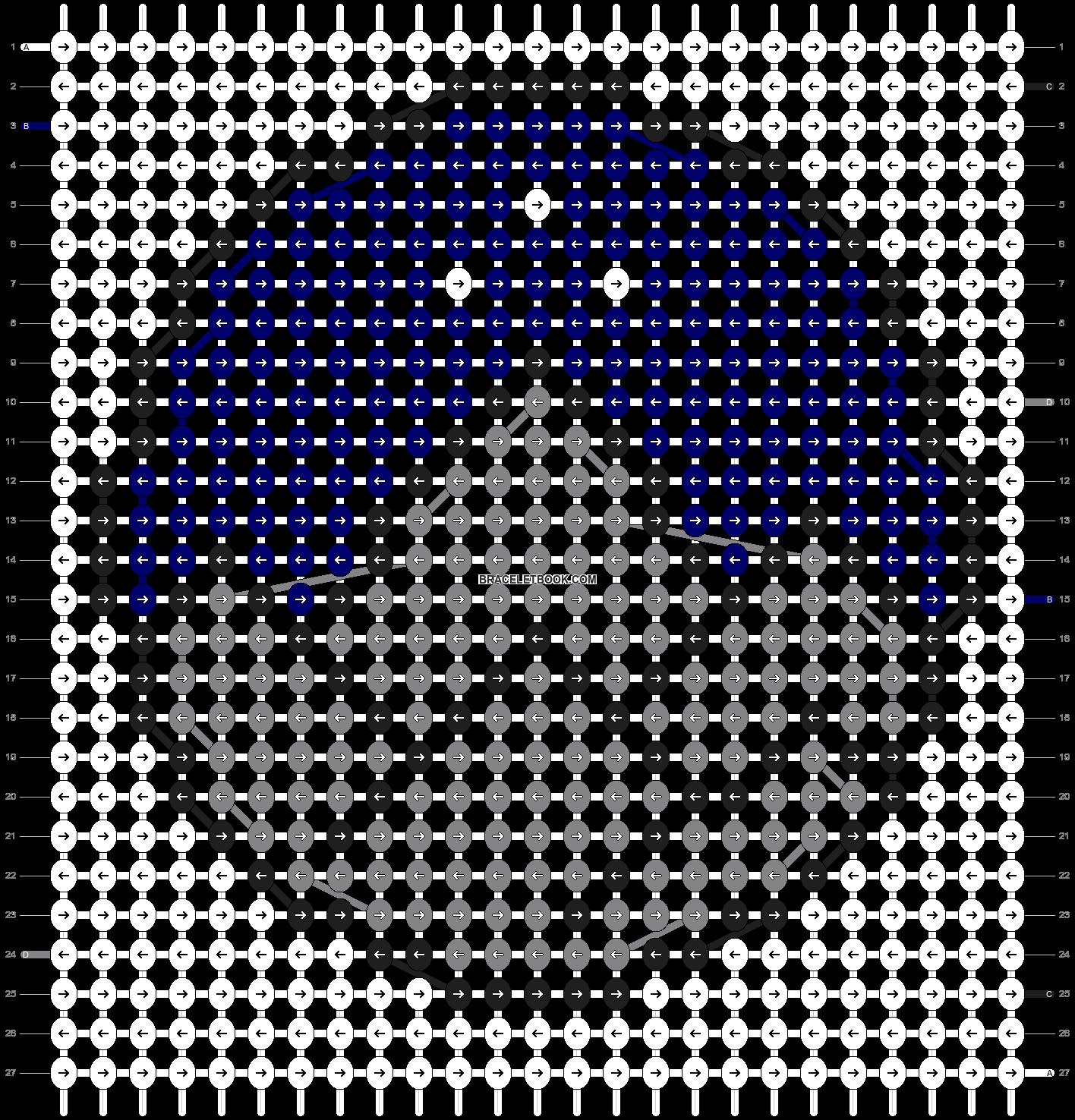 Alpha pattern #27286 pattern