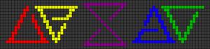 Alpha pattern #27287