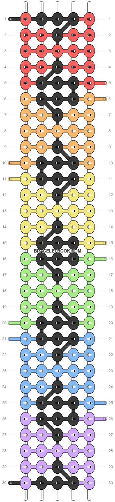 Alpha pattern #27307 pattern