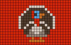 Alpha pattern #27363