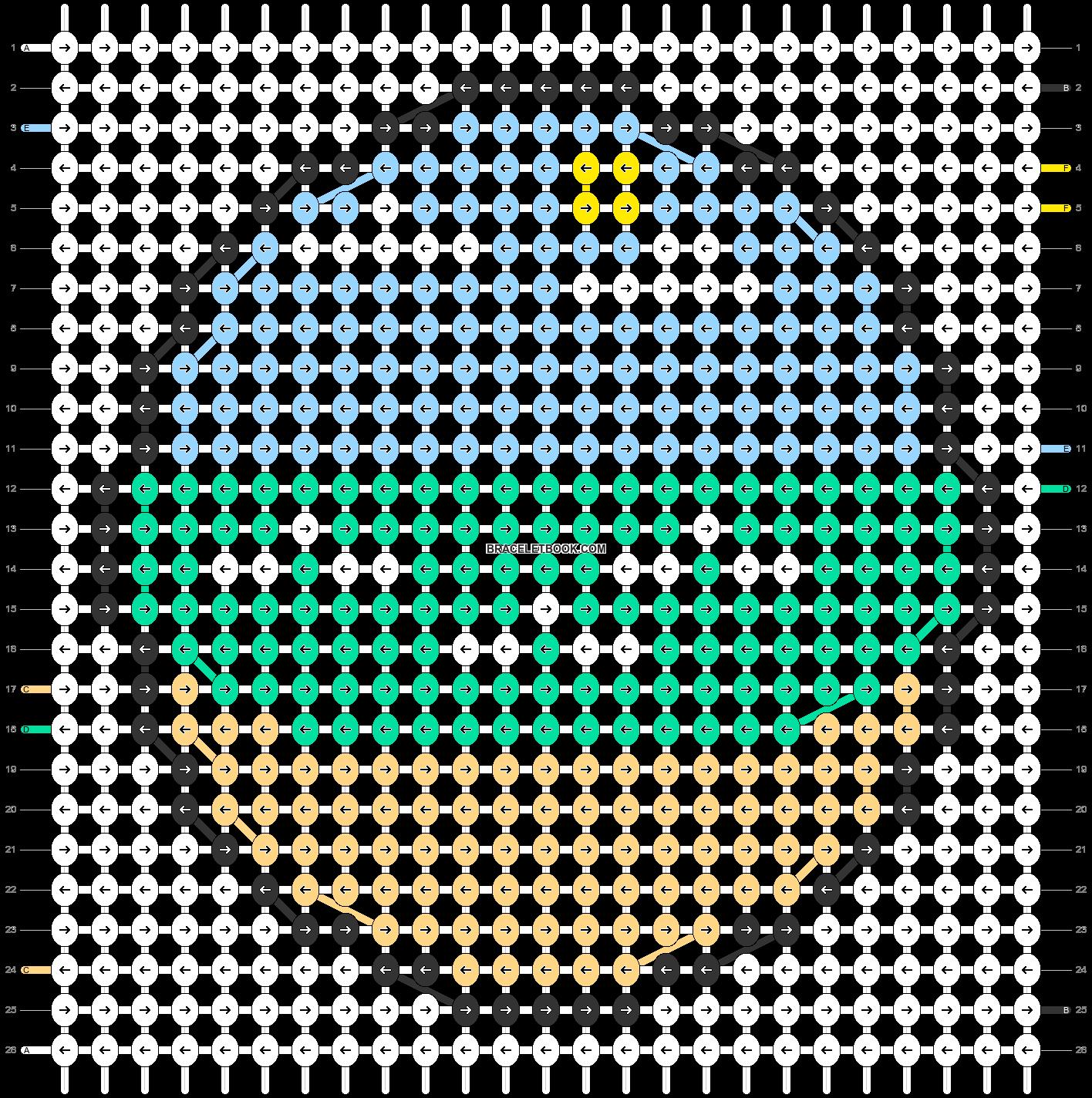 Alpha pattern #27374 pattern