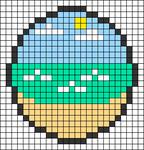 Alpha pattern #27374