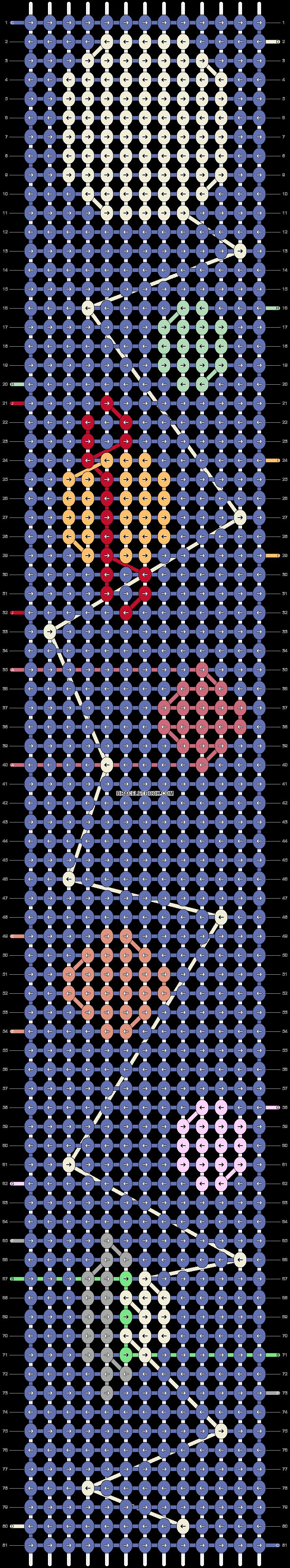 Alpha pattern #27386 pattern