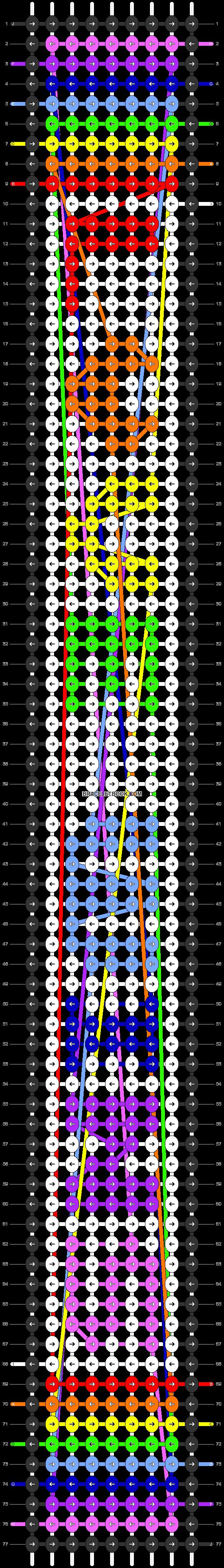 Alpha pattern #27406 pattern