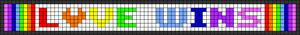 Alpha pattern #27406