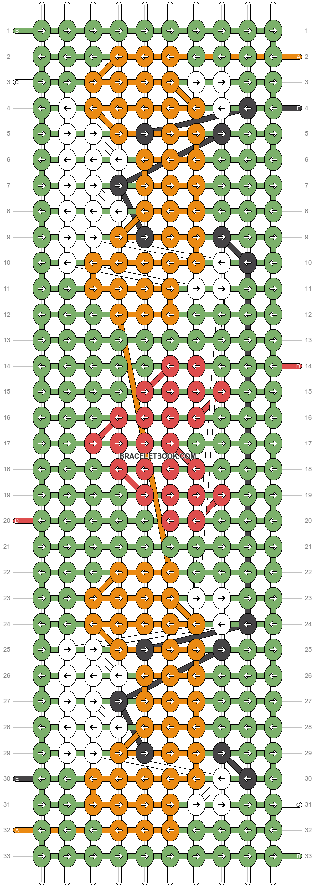 Alpha pattern #27411 pattern
