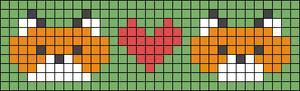 Alpha pattern #27411