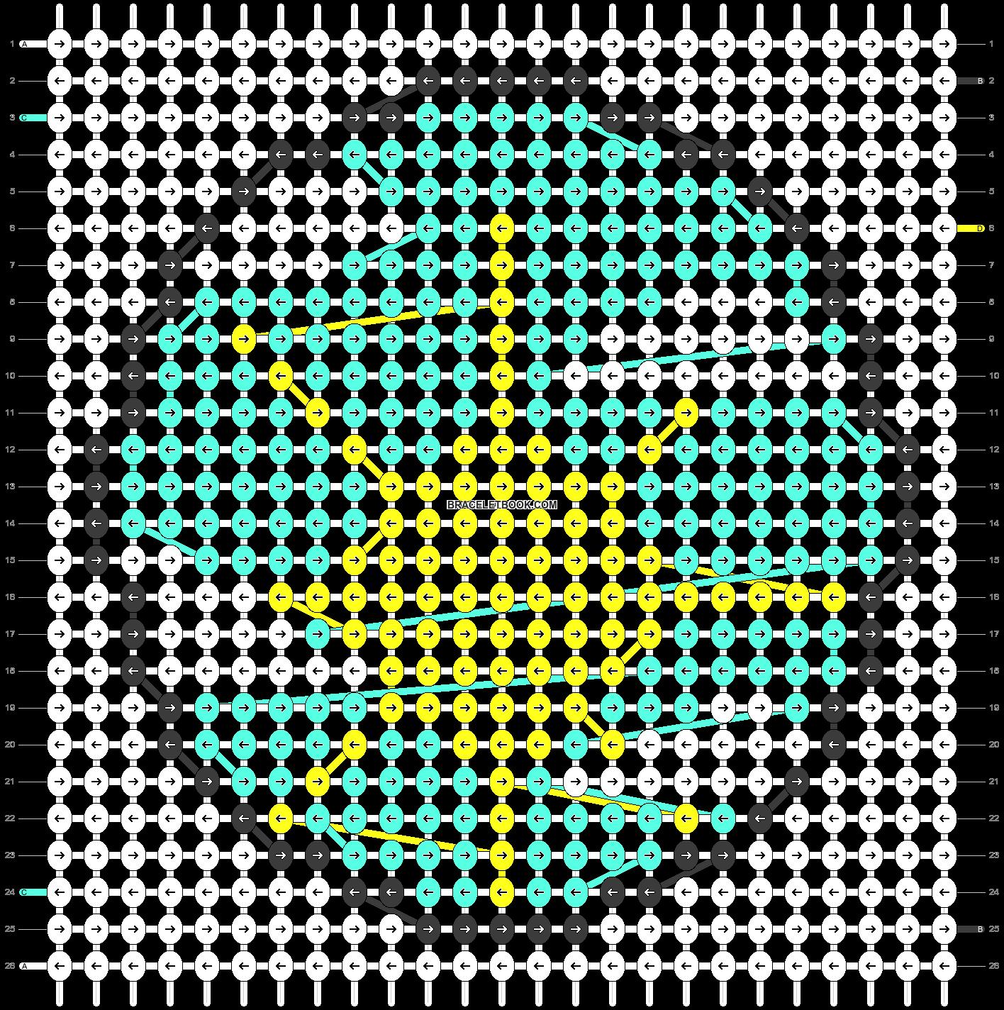 Alpha pattern #27423 pattern