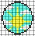Alpha pattern #27423