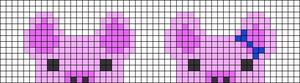 Alpha pattern #27448