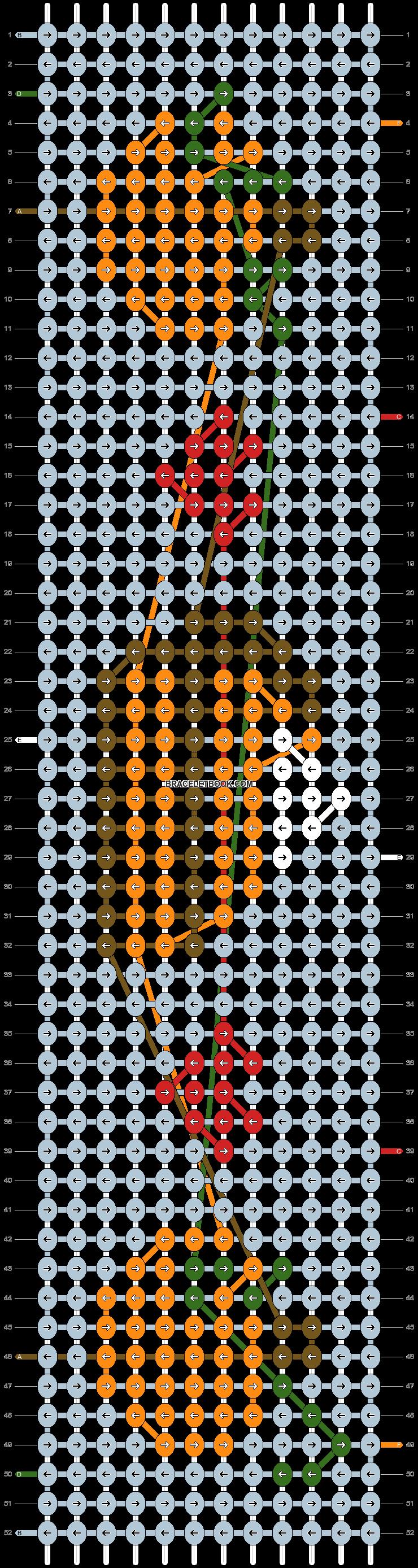 Alpha pattern #27461 pattern