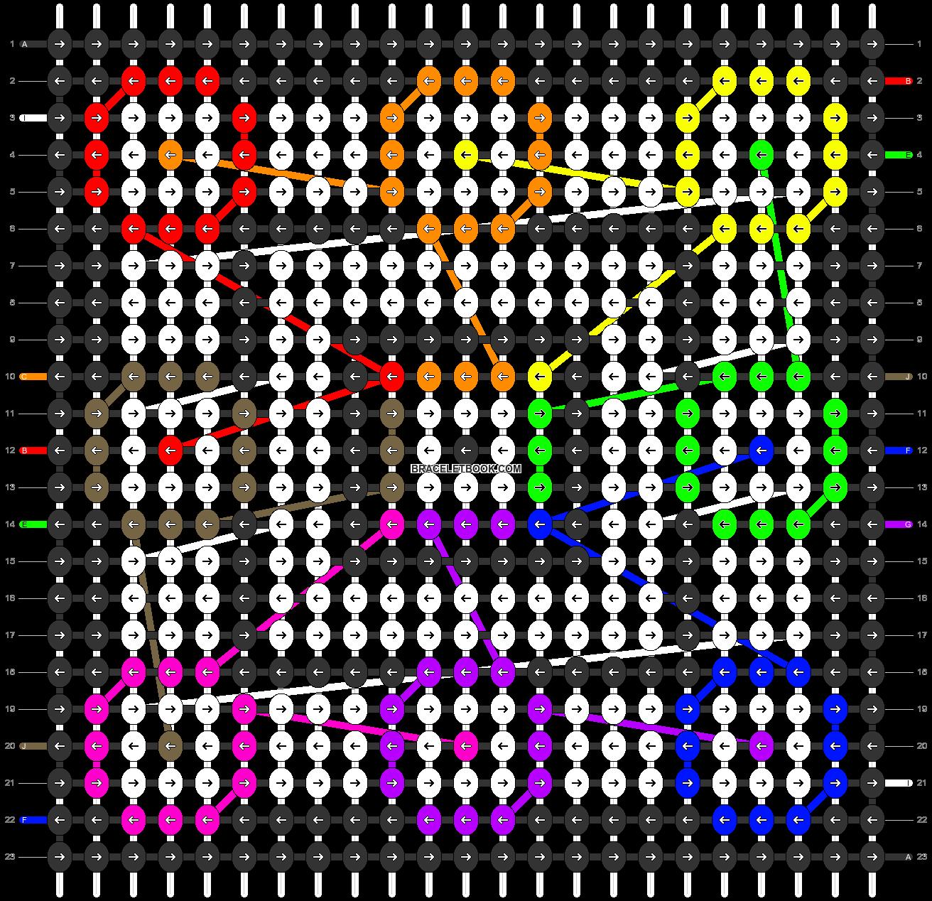 Alpha pattern #27462 pattern