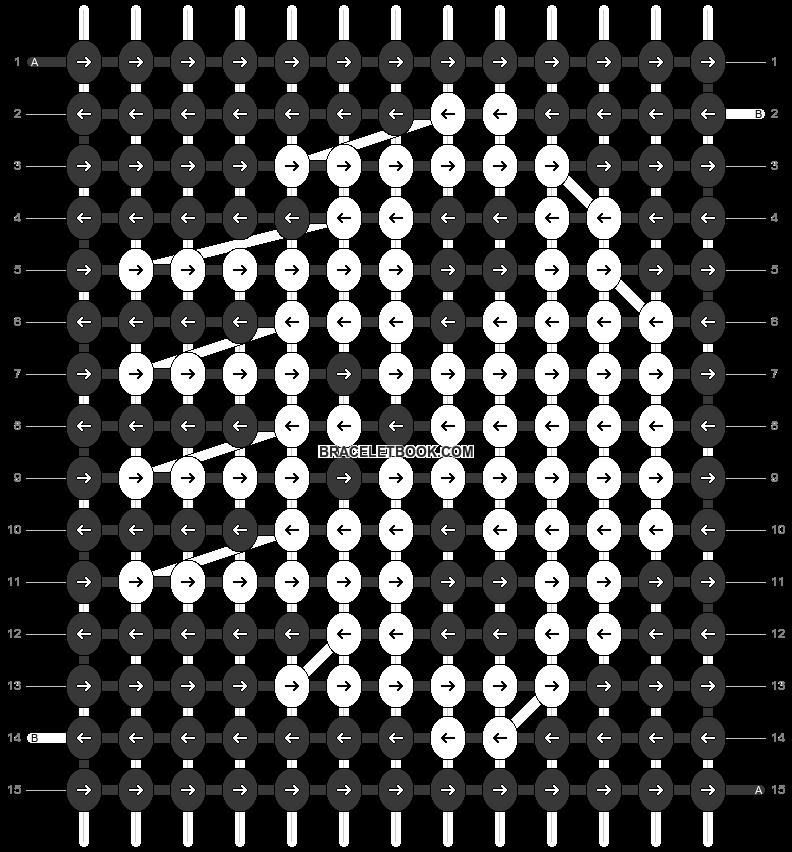 Alpha pattern #27463 pattern