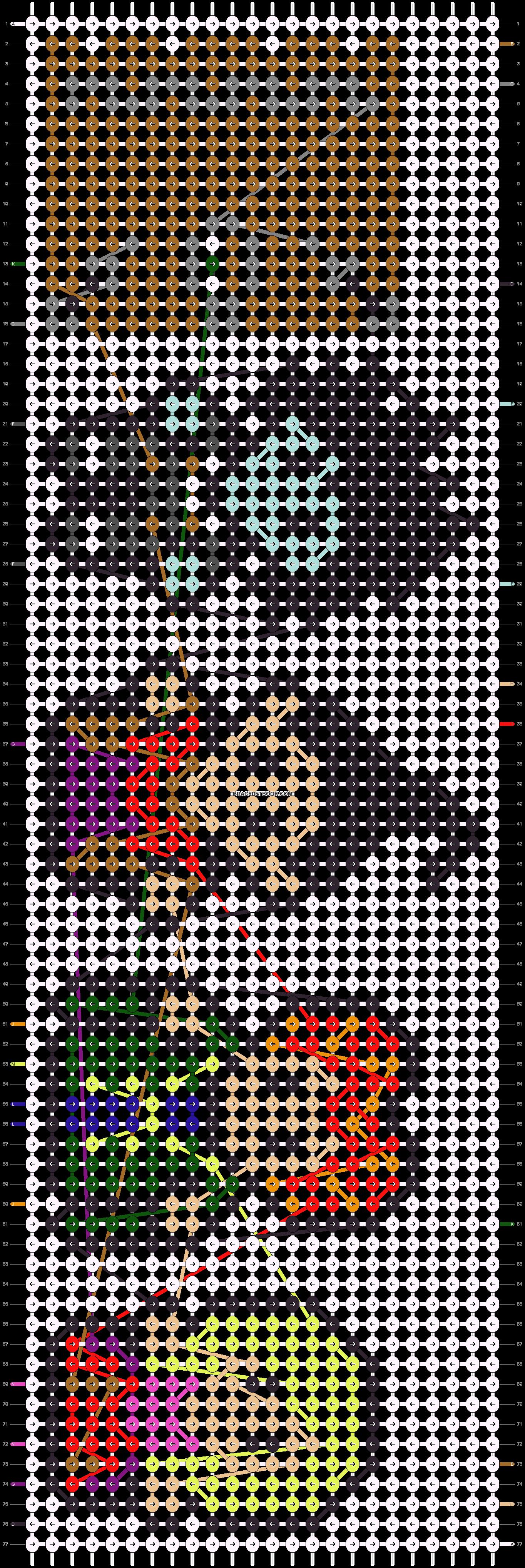 Alpha pattern #27467 pattern