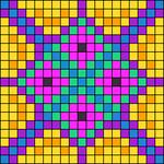 Alpha pattern #27492