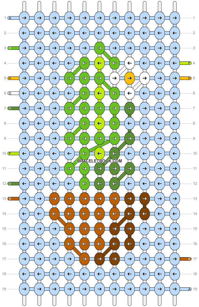 Alpha pattern #27495 pattern