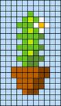 Alpha pattern #27495