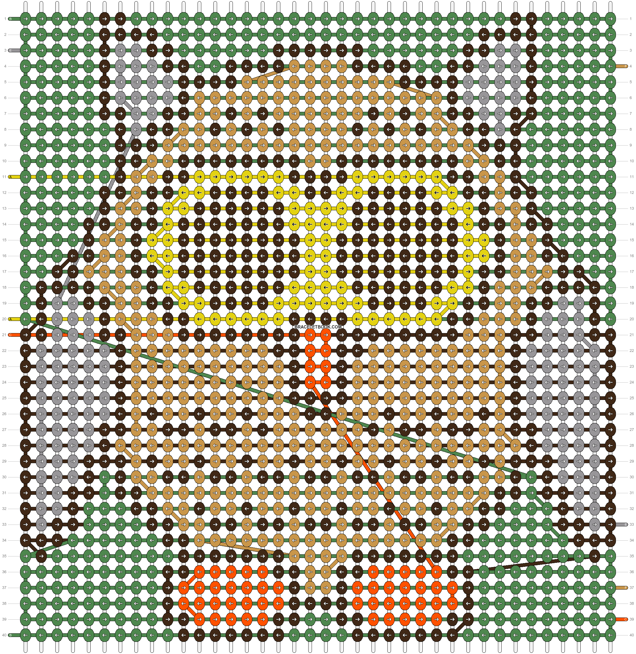 Alpha pattern #27500 pattern