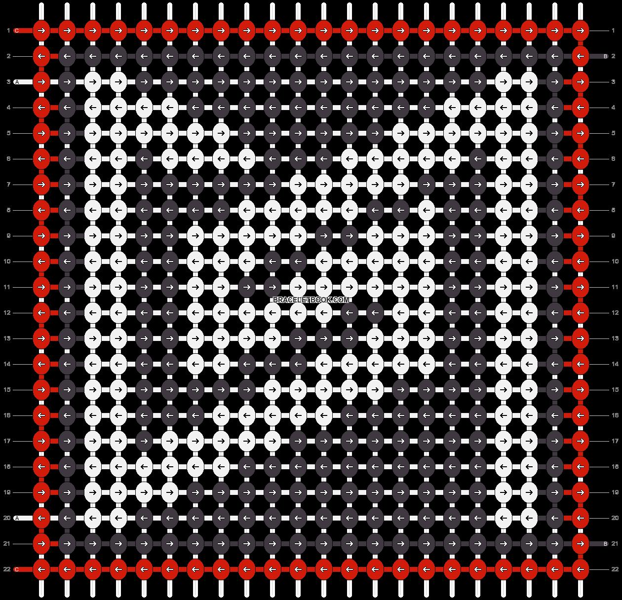 Alpha pattern #27502 pattern