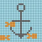 Alpha pattern #27506