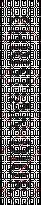 Alpha pattern #27542 pattern