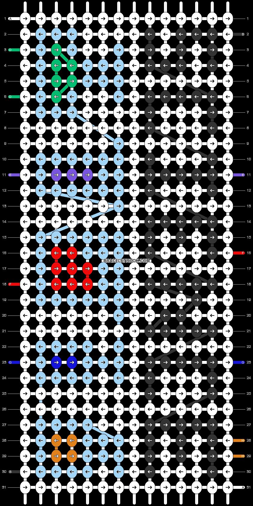 Alpha pattern #27595 pattern