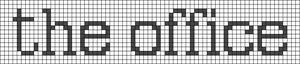 Alpha pattern #27622