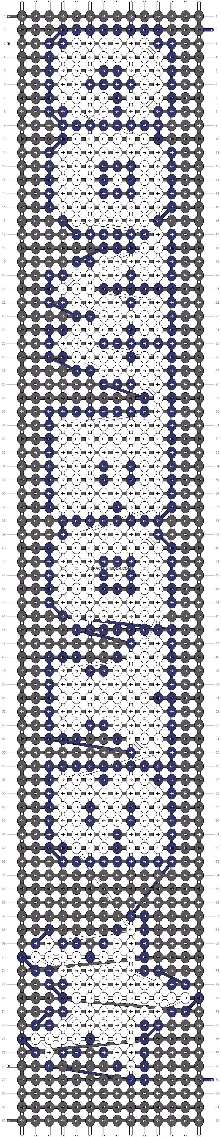 Alpha pattern #27625 pattern