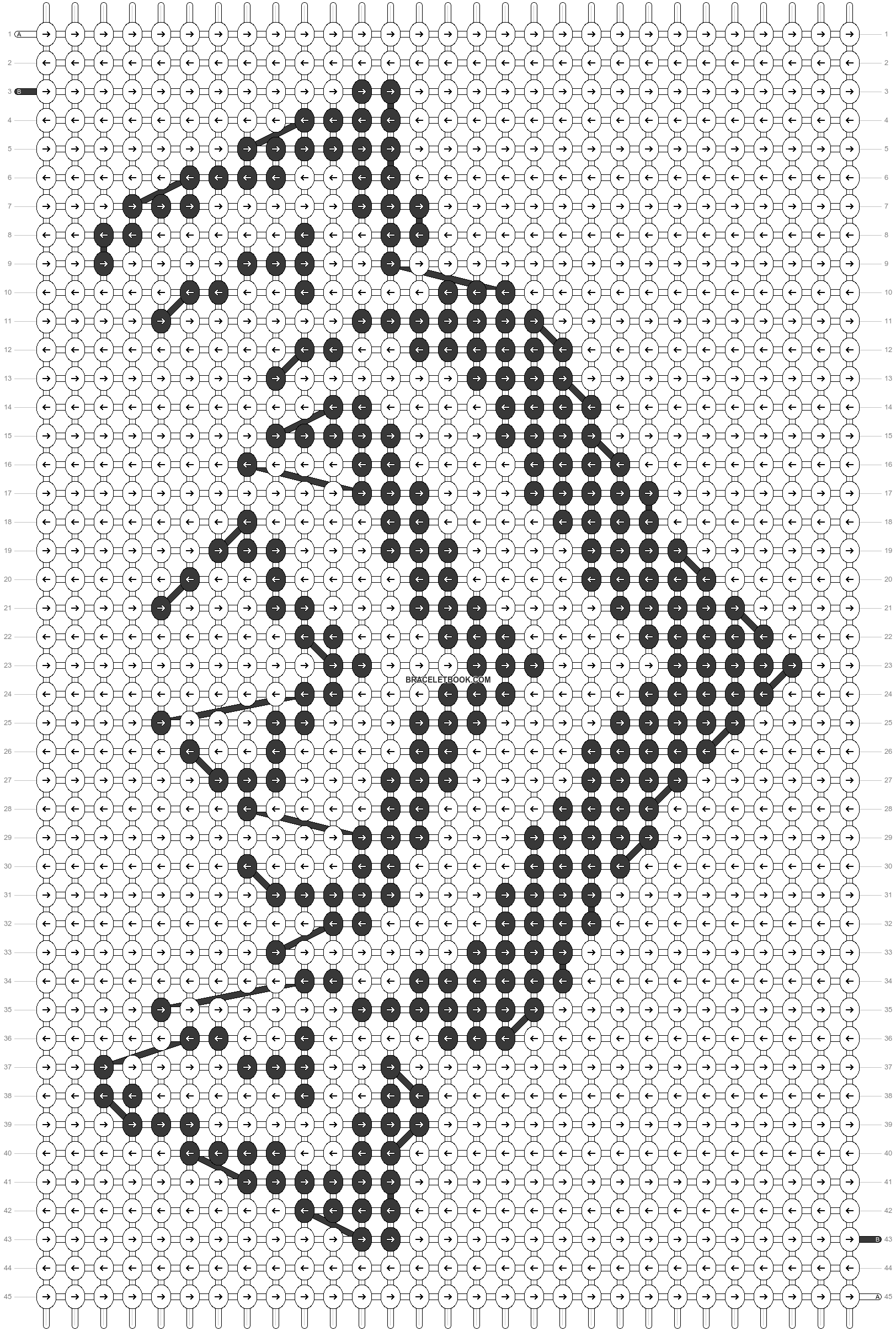 Alpha pattern #27644 pattern