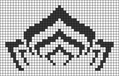 Alpha pattern #27644