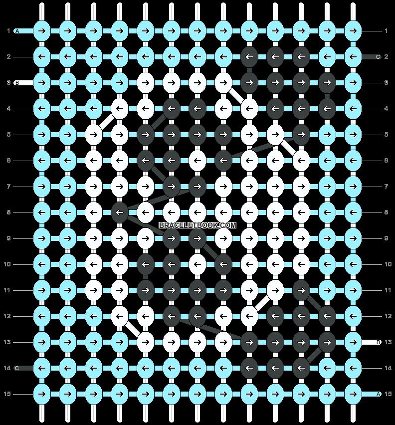 Alpha pattern #27649 pattern