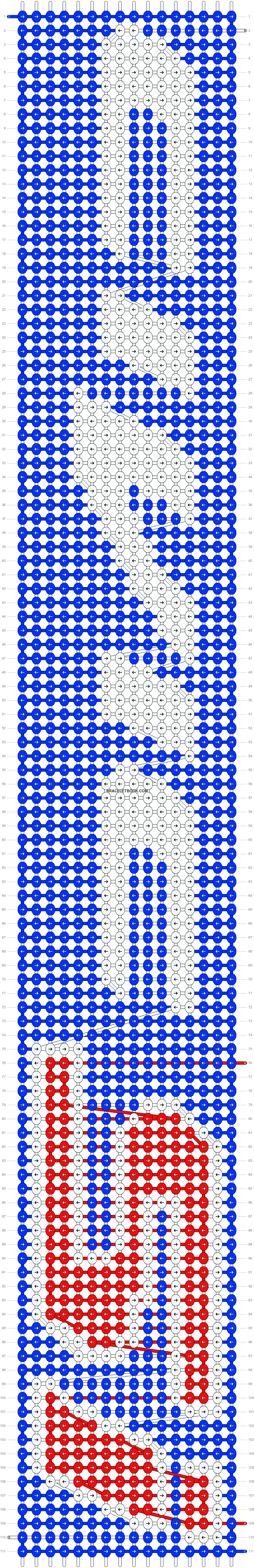 Alpha pattern #27650 pattern