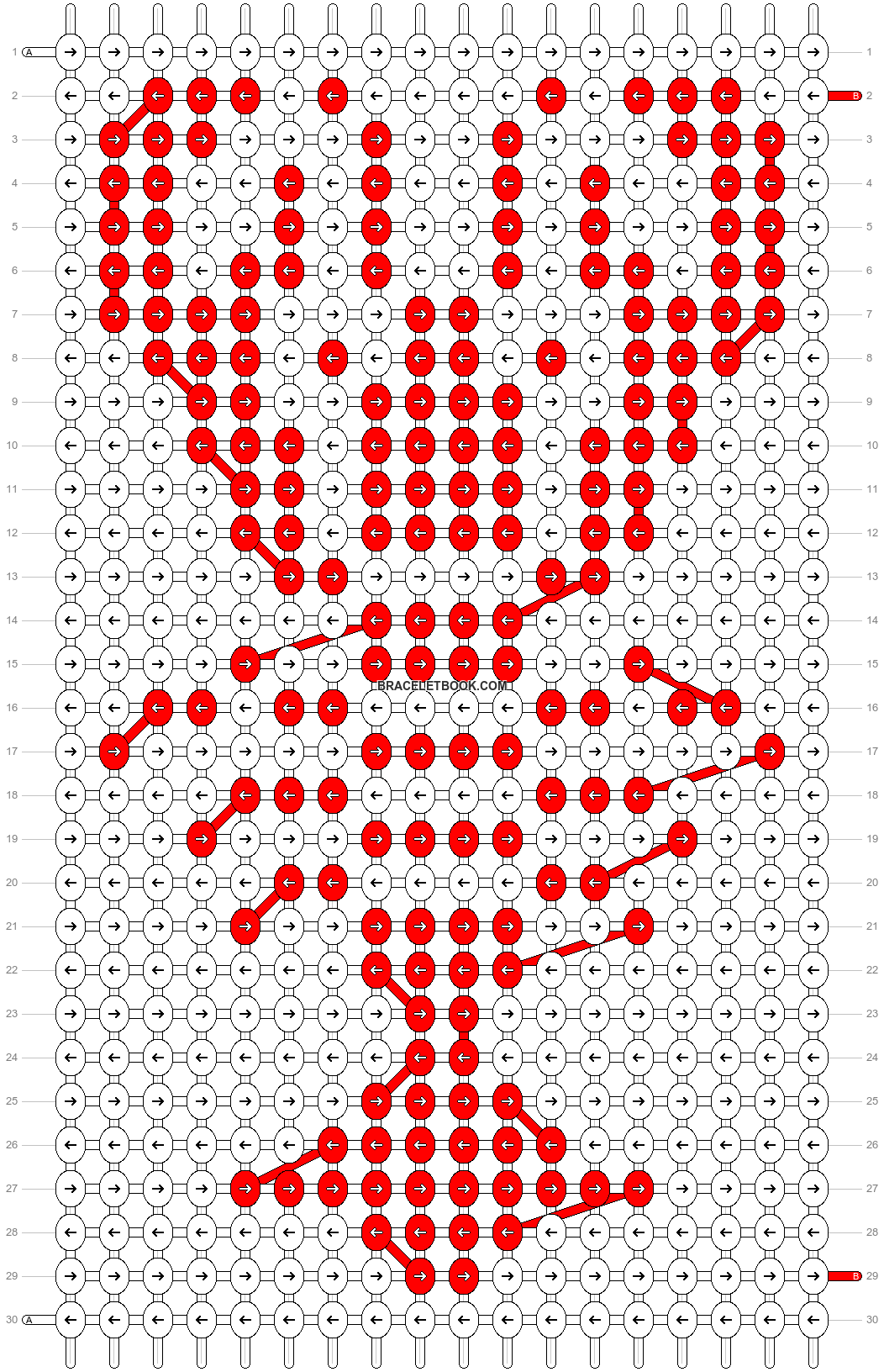 Alpha pattern #27653 pattern