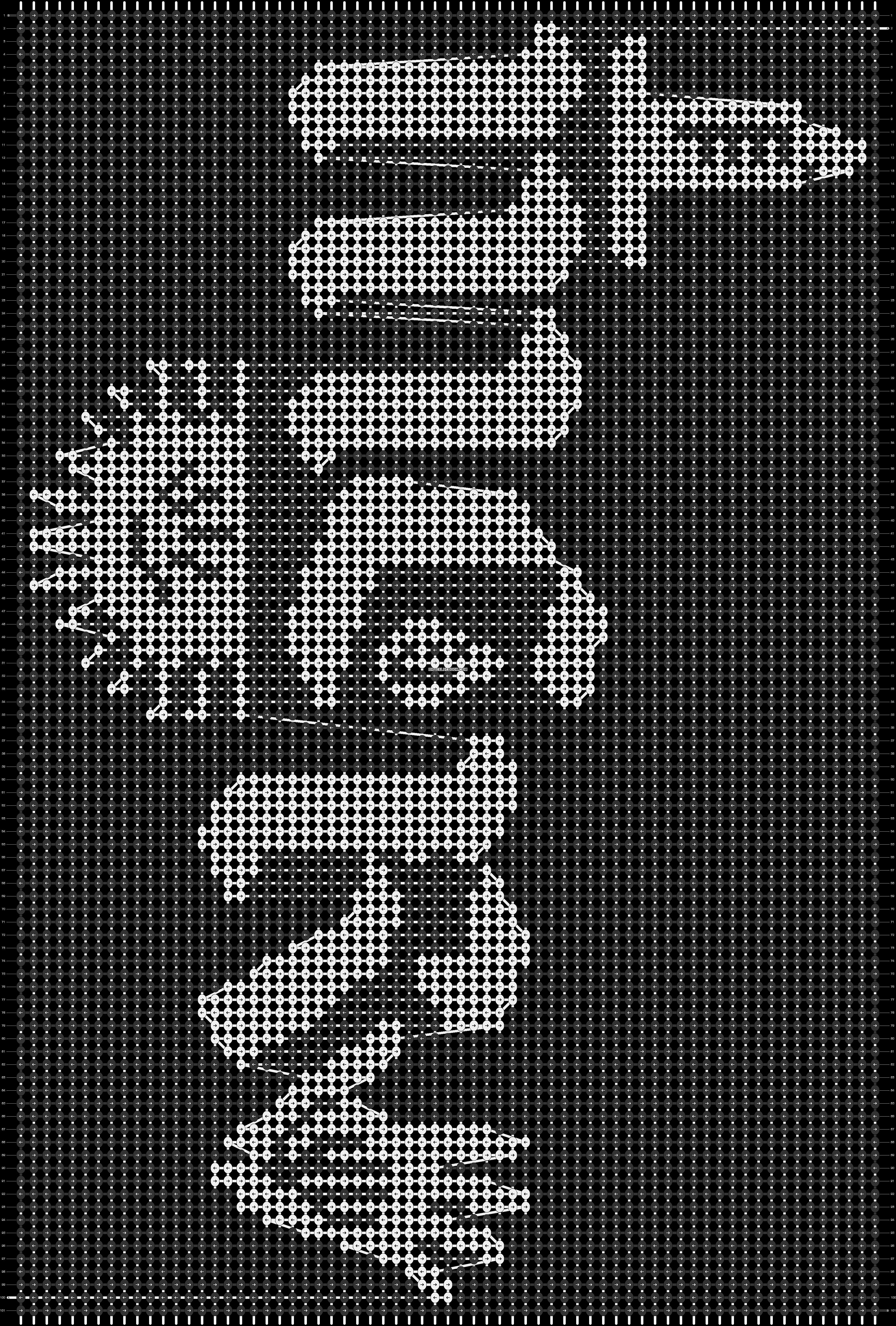 Alpha pattern #27660 pattern
