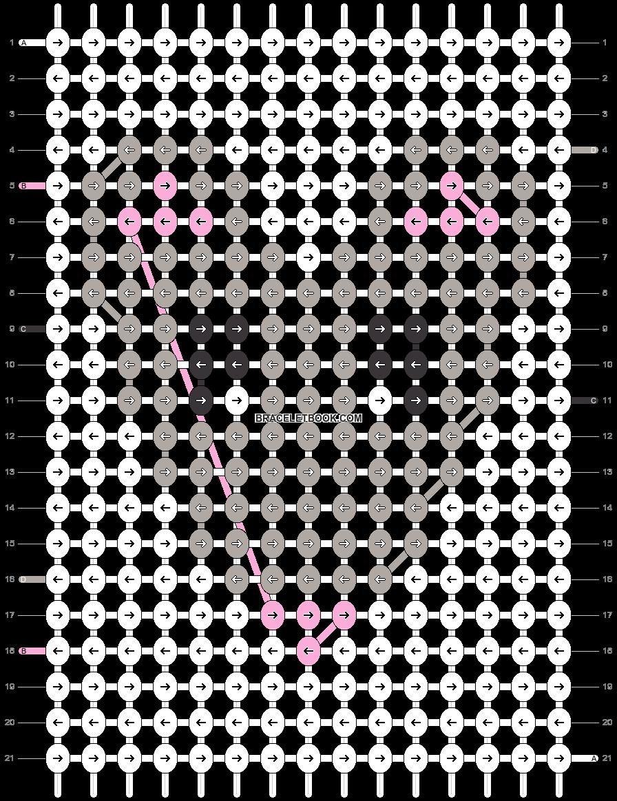 Alpha pattern #27664 pattern