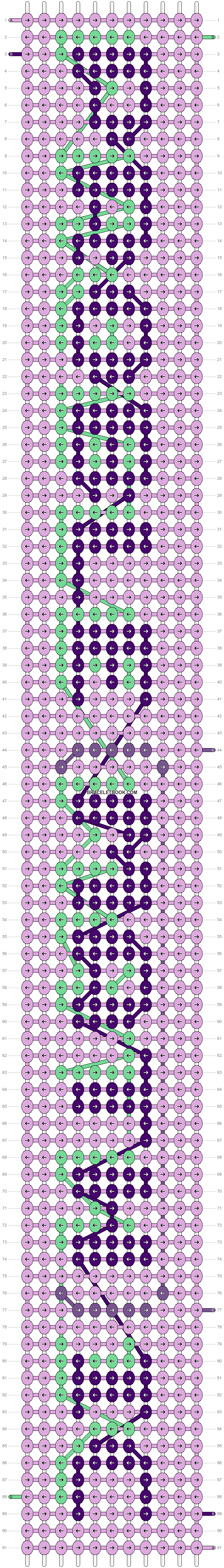 Alpha pattern #27666 pattern