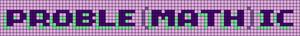 Alpha pattern #27666