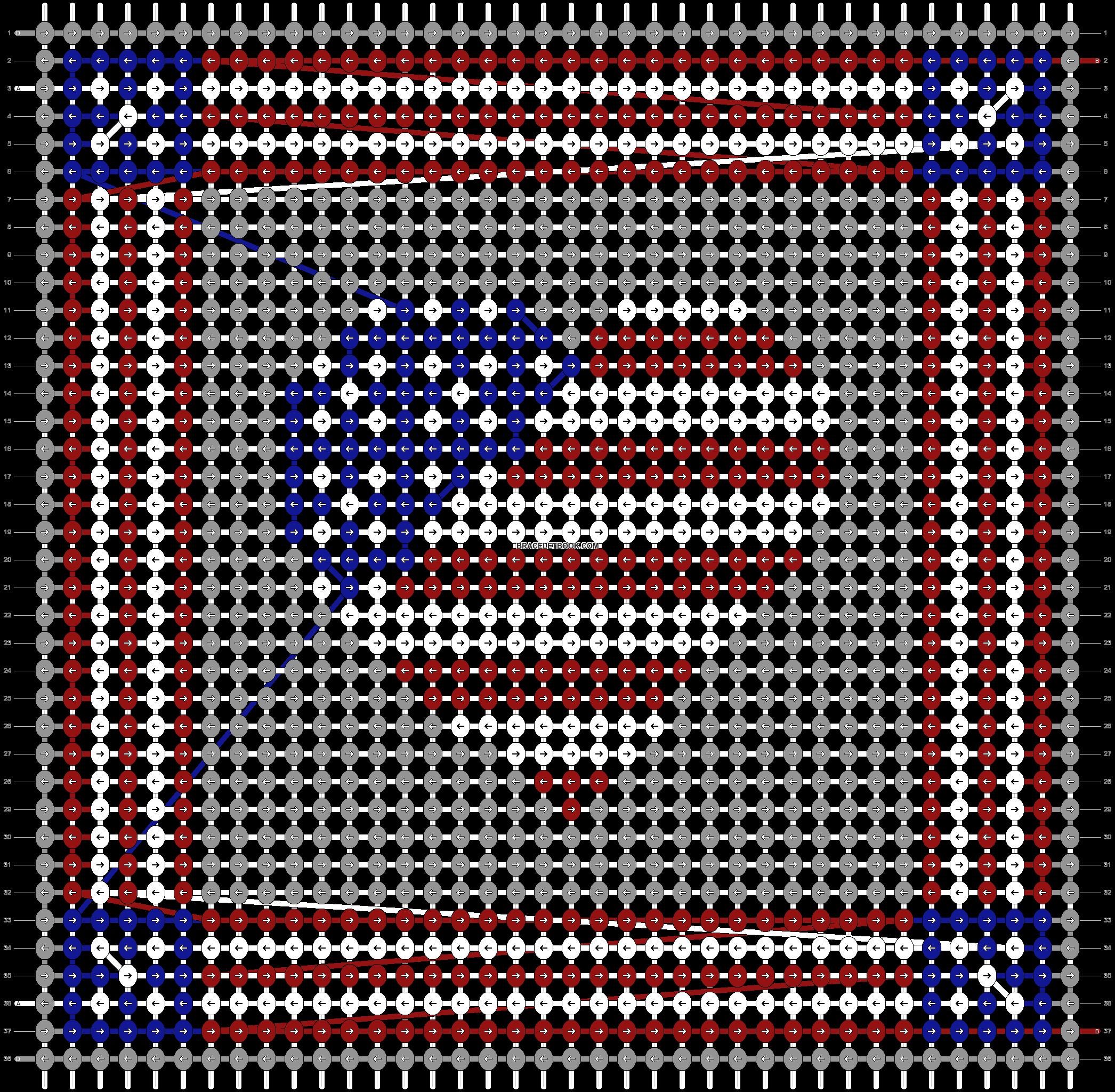 Alpha pattern #27696 pattern