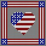 Alpha pattern #27696