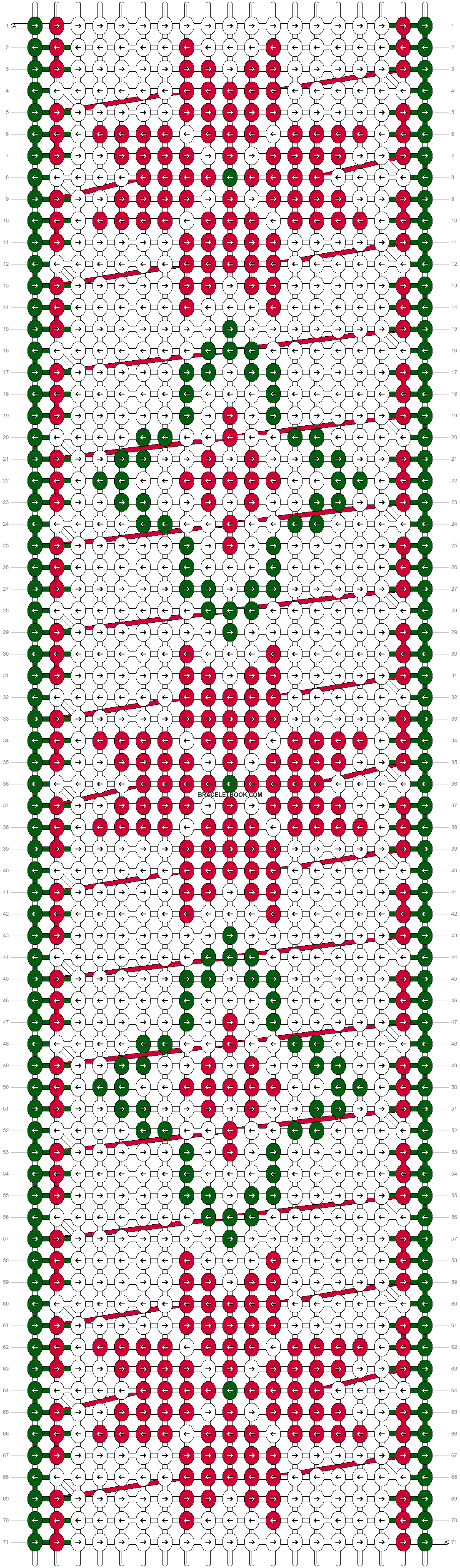 Alpha pattern #27702 pattern