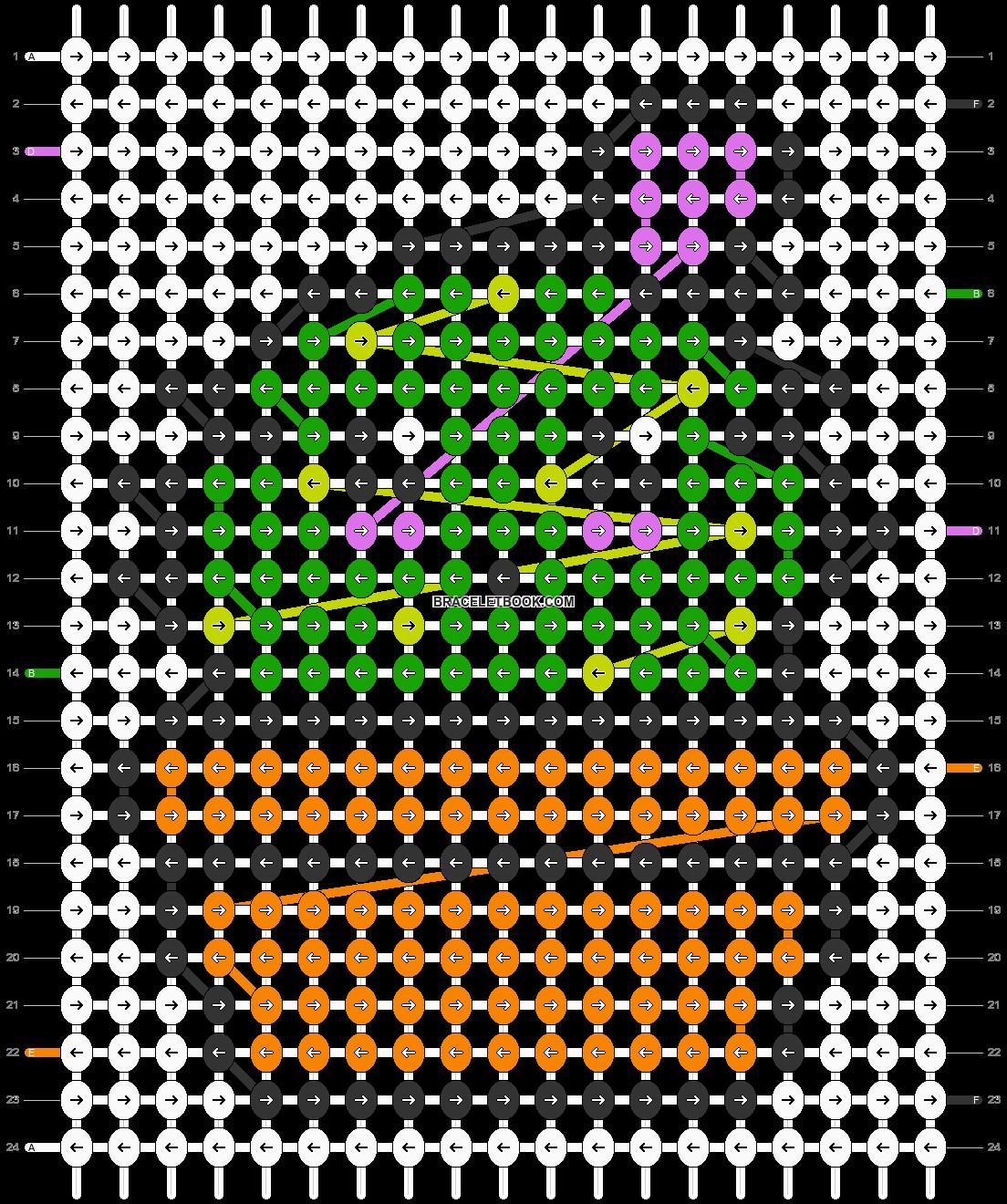 Alpha pattern #27707 pattern