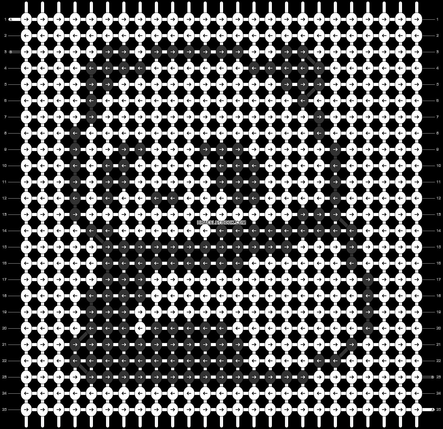 Alpha pattern #27721 pattern