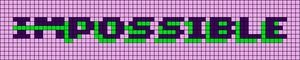 Alpha pattern #27724