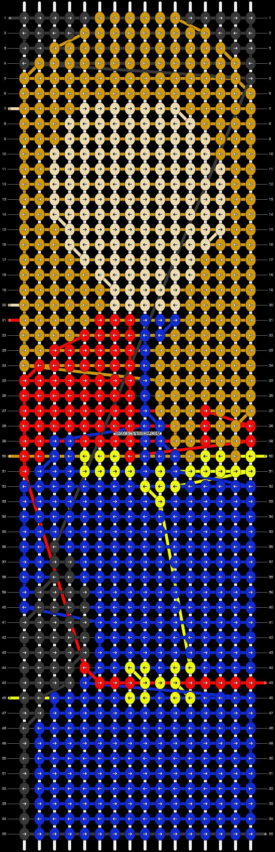 Alpha pattern #27725 pattern