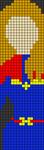 Alpha pattern #27725