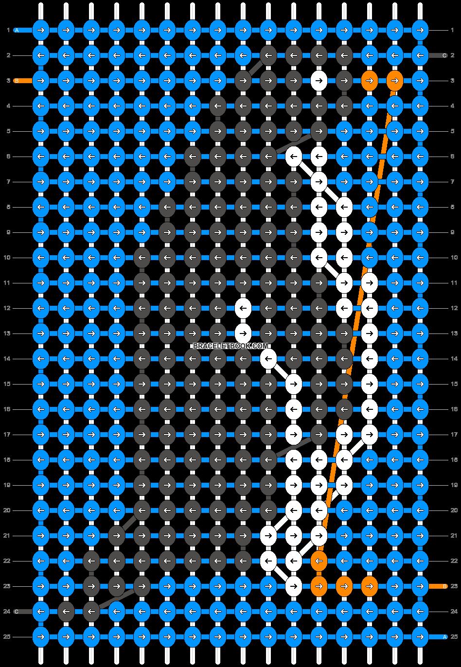 Alpha pattern #27726 pattern