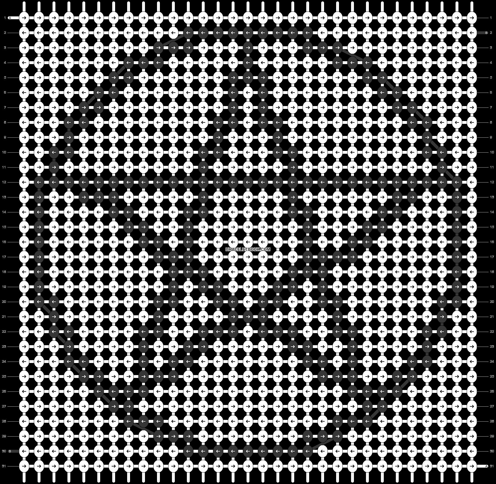 Alpha pattern #27740 pattern